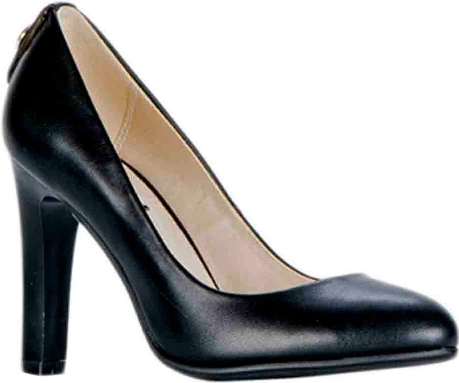 Туфли женские Vitacci, цвет: черный. 83430. Размер 3683430Стильные туфли Vitacci не оставят вас незамеченной! Модель изготовлена из качественной искусственной кожи. Стелька из натуральной кожи обеспечивает комфорт и удобство при ходьбе. Подошва выполнена с высоким устойчивым каблуком.
