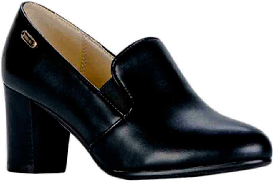 Туфли женские Vitacci, цвет: черный. 83415. Размер 3783415Удобные женские туфли Vitacci - отличный вариант на каждый день. Верх модели изготовлен из качественной искусственной кожи и оформлен язычком и эластичными вставками на подъеме. Стелька из натуральной кожи гарантирует комфорт и удобство при ходьбе. Подошва выполнена с широким устойчивым каблуком.