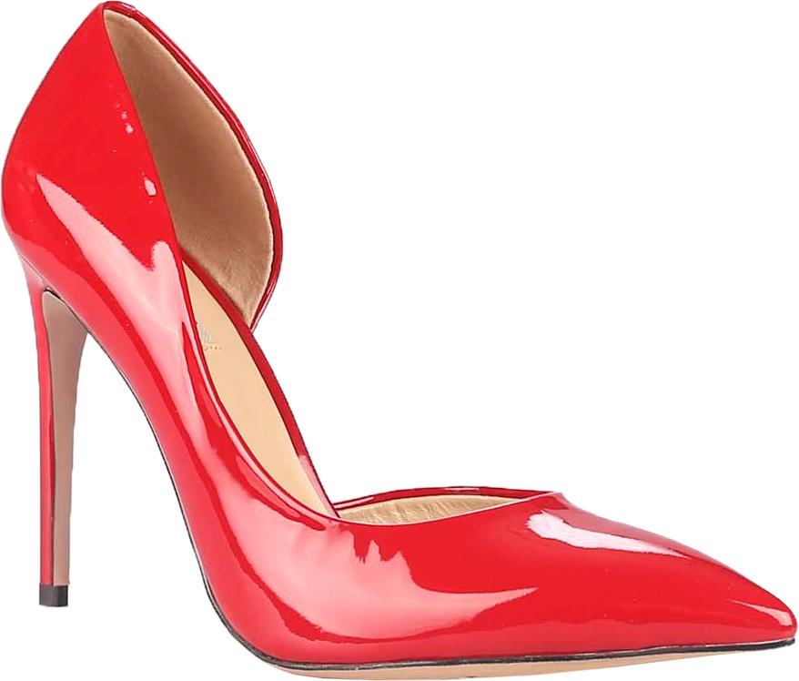 Туфли женские Vitacci, цвет: красный. 49169. Размер 3549169Стильные туфли Vitacci не оставят вас незамеченной! Модель выполнена из качественной натуральной кожи. Стелька из натуральной кожи обеспечивает комфорт и удобство при ходьбе. Подошва выполнена с высоким изящным каблуком.