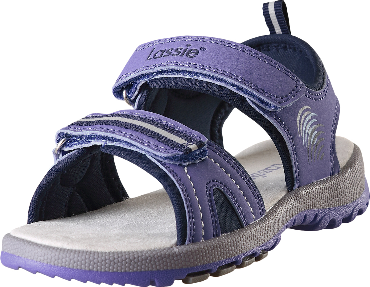 Сандалии детские Lassie Marle, цвет: синий. 7691065690. Размер 277691065690Детские летние сандалии из прочного и простого в уходе синтетического материала. Благодаря двум ремешкам на липучке, эти модные детские сандалии легко надевать и легко отрегулировать нужный размер. Стелька из микрофибры позволяет надевать сандалии даже без носков. Снабжены удобной и дышащей лайкровой подкладкой, а подошва из термопластичной резины обеспечивает хорошее сцепление на любой поверхности. Светоотражающие детали помогут лучше разглядеть ребенка в темное время суток.