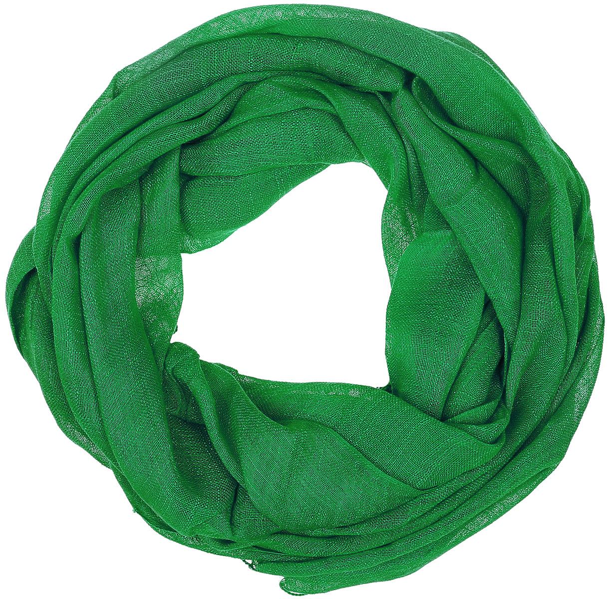 Палантин Vita Pelle, цвет: зеленый. Ro02P135S/85. Размер 62 см х 175 смRo02P135S/85Палантин от Vita Pelle изготовлен изо льна и вискозы. Края изделия дополнены бахромой.