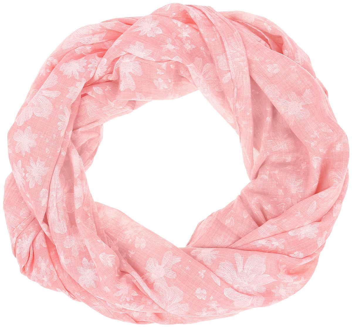 Палантин Vita Pelle, цвет: светло-розовый. Ro01PCB101-5. Размер 70 см х 180 смRo01PCB101-5Палантин от Vita Pelle изготовлен из вискозы с добавлением бамбука, оформлен цветочным принтом. Кромка обработана осыпкой.