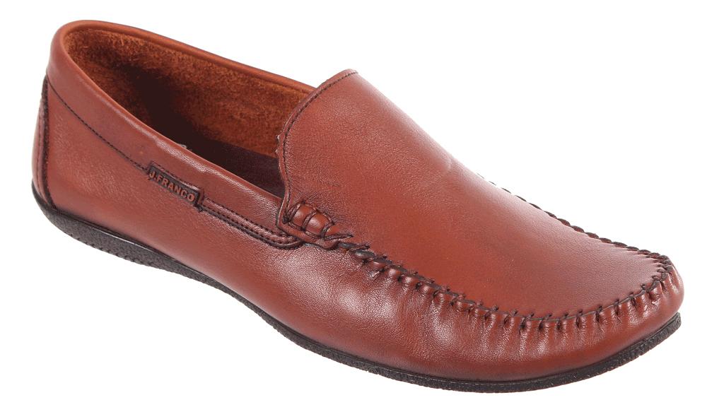 Мокасины мужские James Franco, цвет: коричневый. 17M 436Z/102. Размер 4217M 436Z/102Мужские мокасины James Franco, выполненные из натуральной кожи, гарантируют удобство и комфорт вашим ногам. Модель оформлена декоративным внешним швом. Стелька из мягкой натуральной кожи обеспечивает максимальный комфорт при движении. Стильные мокасины отлично подойдут для простой прогулки или для дальней поездки.