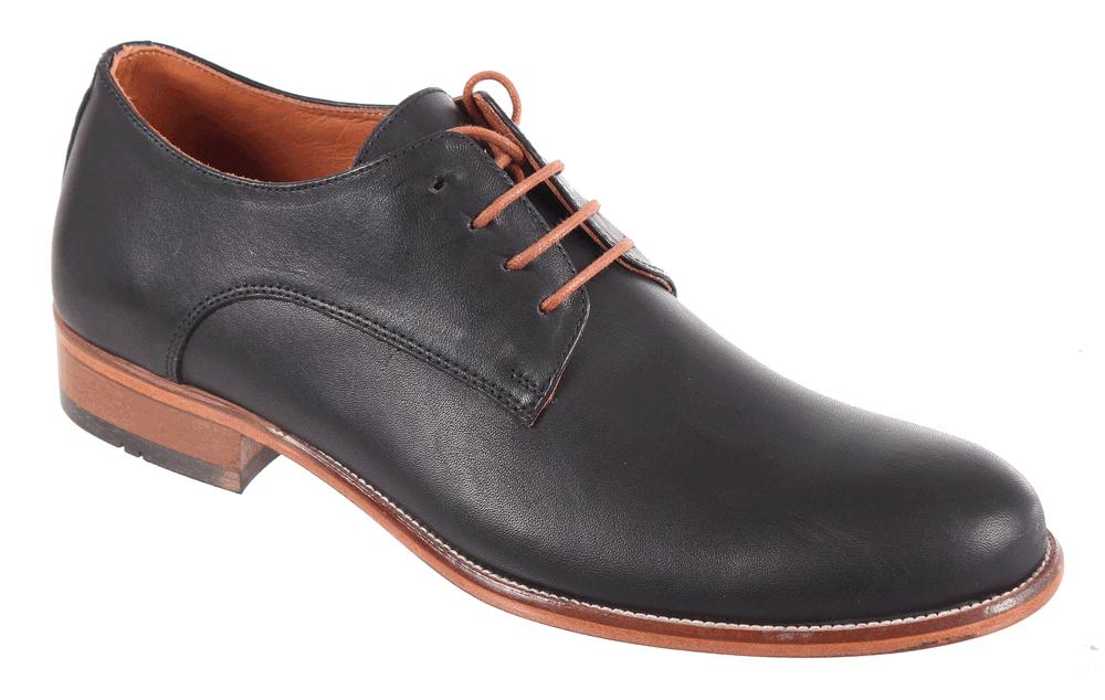 Полуботинки мужские James Franco, цвет: черный. 17M 844/171. Размер 4417M 844/171Стильные мужские полуботинки James Franco, выполненные из натуральной кожи, гарантируют удобство и комфорт вашим ногам. Модель на шнуровке оформлена декоративными швами и отстрочкой.Данная модель прекрасно сможет подчеркнуть ваш индивидуальный стиль. В такой обуви вы можете пойти куда угодно: на деловую встречу, вечеринку или на городскую экскурсию.