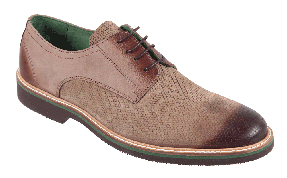 Полуботинки мужские James Franco, цвет: бежевый. 17M 1166/1. Размер 4117M 1166/1Стильные мужские полуботинки James Franco, выполненные из нубука, гарантируют удобство и комфорт вашим ногам. Модель на шнуровке оформлена декоративными швами.Данная модель прекрасно сможет подчеркнуть ваш индивидуальный стиль.