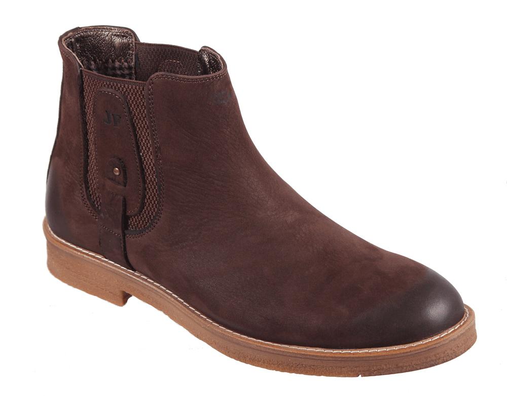 Ботинки мужские James Franco, цвет: коричневый. 17M 1810/344. Размер 4317M 1810/344Стильные мужские ботинки от James Franco, изготовленные из нубука, они гарантируют удобство и оригинальность образа. Модель имеет по бокам вставку на резинки для более удобного обувания. Подкладка и стелька выполнены из натуральной кожи. Подошва выполнена из гибкого, легкого материала обладающего высокой устойчивостью к истиранию. Эти ботинки можно сочетать с самыми разнообразными вещами вашего гардероба, они подчеркнут ваш индивидуальный стиль.