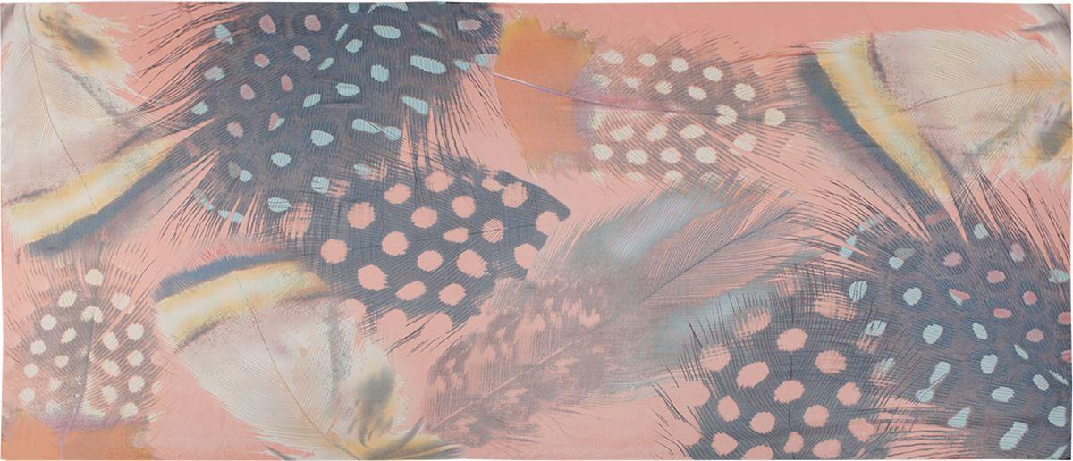 Палантин Labbra, цвет: коралловый. LDB34-634. Размер 90 см х 180 смLDB34-634Палантин Labbra изготовлен из шелка и вискозы. Изделие оформлено оригинальным принтом.Этот модный аксессуар гармонично дополнит образ современной женщины, следящей за своим имиджем и стремящейся всегда оставаться стильной и элегантной.