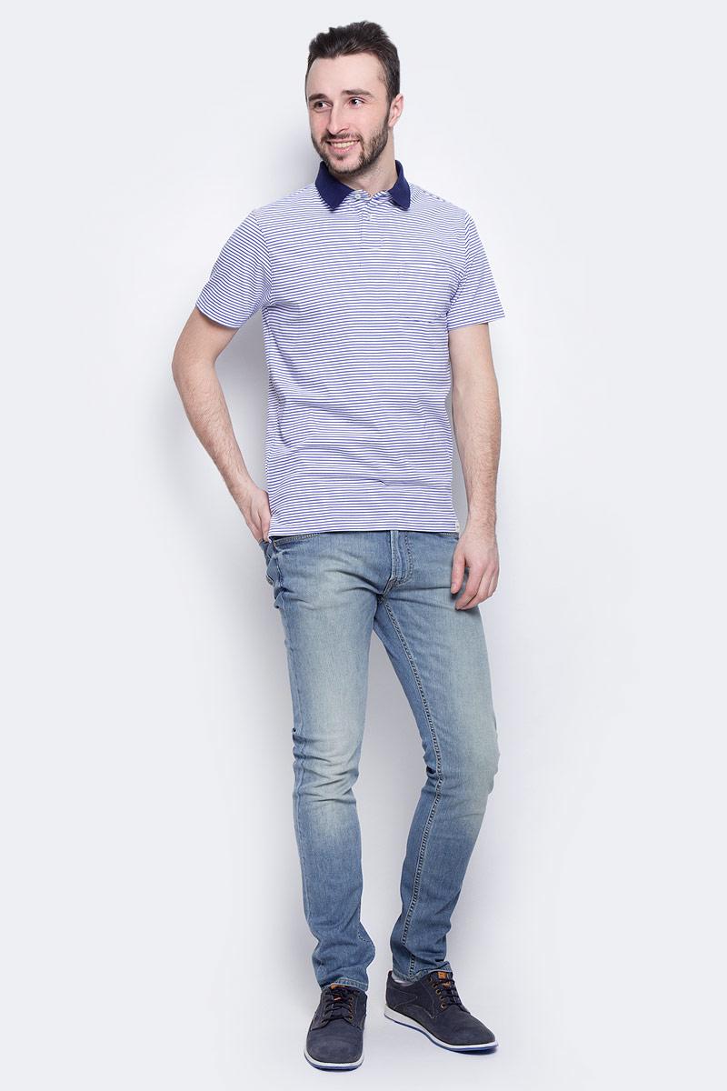 Джинсы мужские Lee Luke, цвет: голубой. L719QAJU. Размер 31-32 (46/48-32)L719QAJUМужские джинсы Lee Luke выполнены из высококачественного эластичного хлопка. Джинсы-слим стандартной посадки застегиваются на пуговицу в поясе и ширинку на застежке-молнии, дополнены шлевками для ремня. Джинсы имеют классический пятикарманный крой: спереди модель дополнена двумя втачными карманами и одним маленьким накладным кармашком, а сзади - двумя накладными карманами. Джинсы украшены декоративными потертостями.