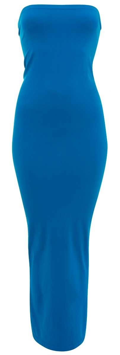 Платье oodji Ultra, цвет: бирюза. 59800010/35447/7300N. Размер 36 (42-170)59800010/35447/7300NБесшовное платье-труба oodji Ultra, выполненное из эластичного трикотажа, поможет создать стильный образ, как для повседневной жизни, так и для вечеринки или клуба. Облегающее платье-трансформер миди-длины можно использовать как платье и как юбку, варьируя длину.