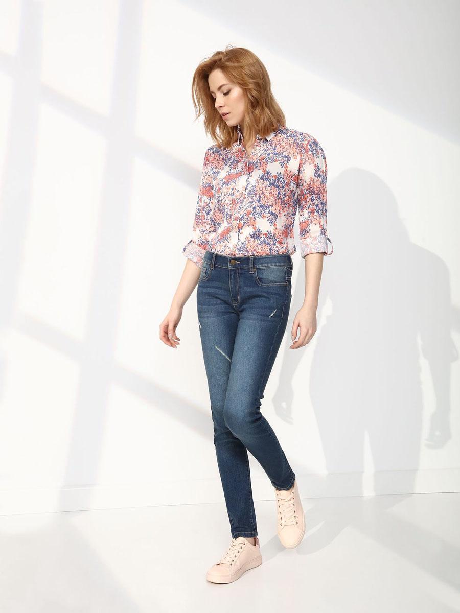 Джинсы женские Top Secret, цвет: синий. SSP2455NI42[E]. Размер 42 (50)SSP2455NIСтильные женские джинсы Top Secret - джинсы высочайшего качества на каждый день, которые прекрасно сидят. Модель изготовлена из высококачественного комбинированного материала. Эти модные и в тоже время комфортные джинсы послужат отличным дополнением к вашему гардеробу. В них вы всегда будете чувствовать себя уютно и комфортно.