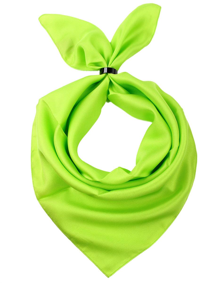 Платок женский Venera, цвет: салатовый. 5601052-8. Размер 53 см х 53 см5601052-8Женский платок от Venera выполнен из натурального шелка, произведенного в Италии.