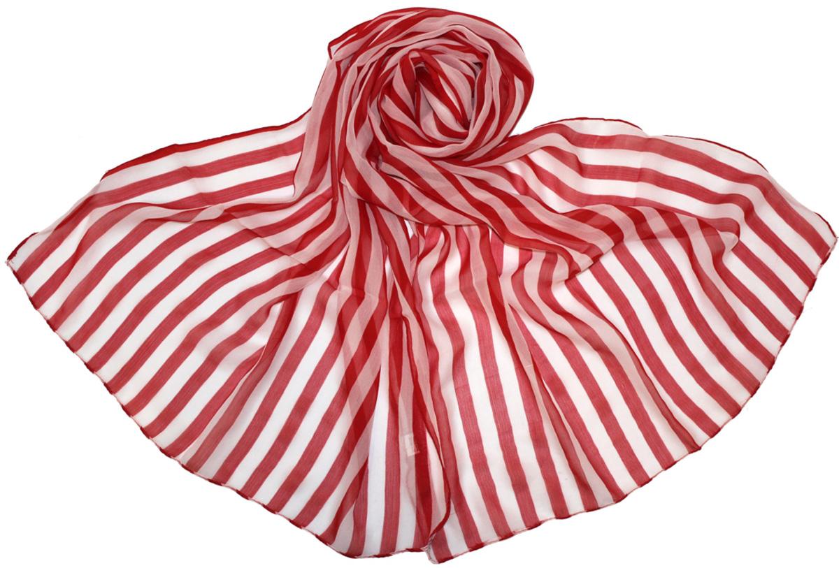 Шарф женский Ethnica, цвет: красный, белый. 262040. Размер 50 см х 170 см262040Женский шарф Ethnica, изготовленный из 100% вискозы, подчеркнет вашу индивидуальность. Благодаря своему составу, он легкий, мягкий и приятный на ощупь. Изделие оформлено оригинальным принтом.Такой аксессуар станет стильным дополнением к гардеробу современной женщины.
