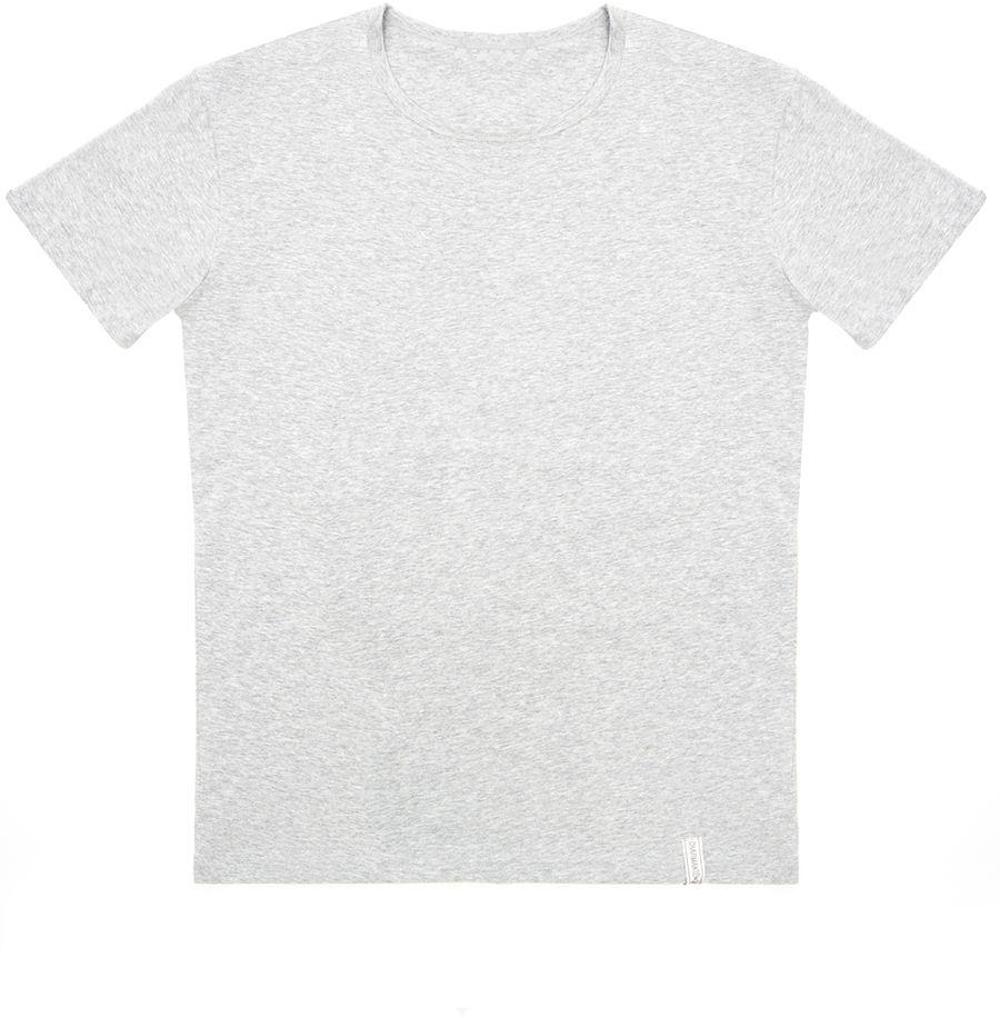 Футболка мужская Charmante, цвет: серый. ICMF 671609C. Размер XL (52)ICMF 671609CМужская футболка Charmante выполнена из высококачественного материала. Модель с круглым вырезом горловины и короткими рукавами. Фирменная нашивка завершает дизайн модели.