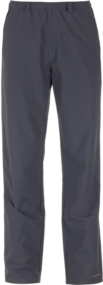 Брюки туристические мужские Columbia Backcast Pant Mens Pants, цвет: темно-серый. 1543961-028. Размер S (44/46)1543961-028Мужские брюки Columbia из быстросохнущего нейлона подойдут для горного туризма. Легкий материал обеспечивает превосходный воздухообмен. Регулируемый эластичный пояс обеспечивает удобную индивидуальную посадку. Технология Omni-Shade блокирует вредное солнечное излучение. Модель дополнена четырьмя карманами.