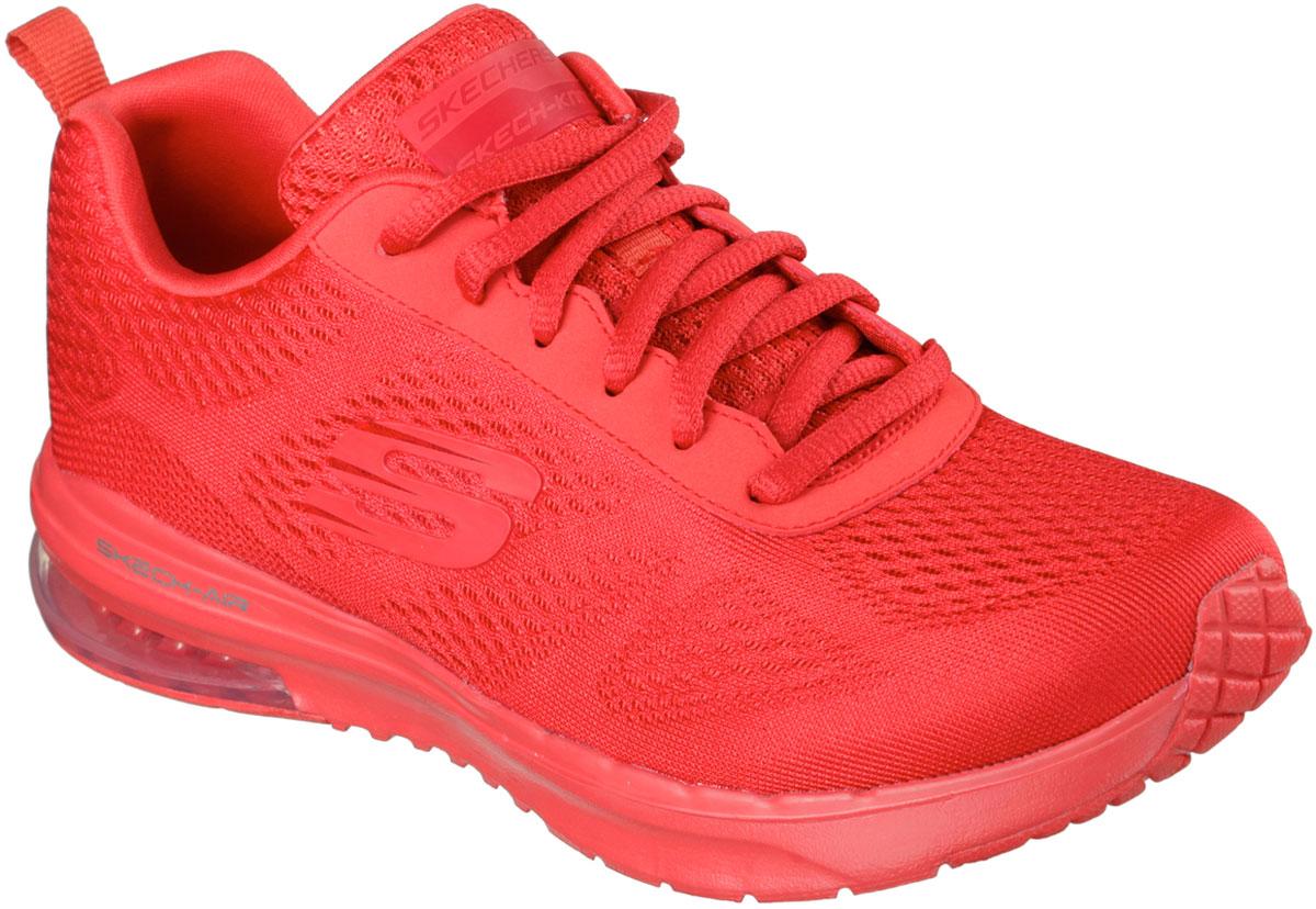 Кроссовки женские Skechers Skechair Infinity-Vivid Color, цвет: красный. 12176-RED. Размер 7,5 (38,5)12176-REDСтильные легкие женские кроссовки Skechers подходят как для занятий спортом, так и для повседневных прогулок. Верх модели выполнен из дышащего текстиля. Классическая шнуровка надежно зафиксирует модель на стопе. Внутренняя отделка исполнена из мягкого текстиля. Гибкая анатомическая подошва имеет рельефный протектор, который обеспечивает надежное сцепление с поверхностью.В таких кроссовках вашим ногам будет комфортно и уютно. Они подчеркнут ваш стиль и индивидуальность!