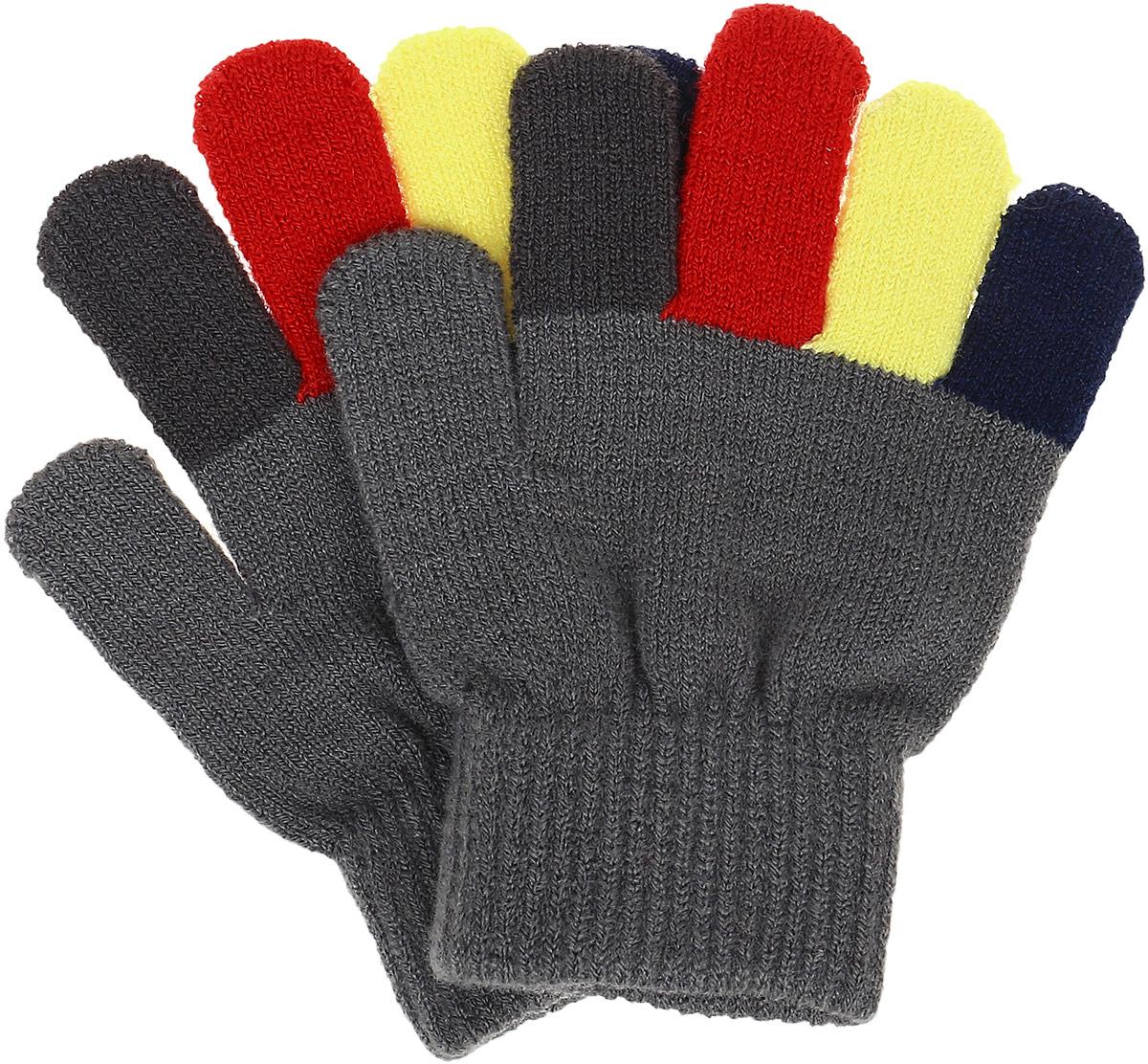 Перчатки детские PlayToday, цвет: серо-зеленый. 361038. Размер 15, 7-8 лет361038Перчатки детские PlayToday изготовлены из качественного мягкого акрила. Верх перчаток дополнен широкой резинкой. Вязаные перчатки станут идеальным вариантом для прохладной погоды. Они очень мягкие, хорошо тянутся и прекрасно сохраняют тепло.