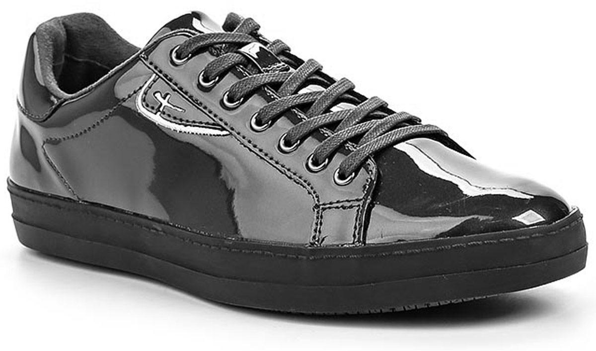 Полуботинки женские Tamaris, цвет: темно-серый. 1-1-23606-27-263/227. Размер 411-1-23606-27-263/227Стильные женские полуботинки Tamaris придутся вам по душе!Модель выполнена из искусственной лакированной кожи. Классическая шнуровка обеспечивает оптимальную посадку обуви на ноге. Невероятно мягкая стелька из текстиля гарантирует максимальный комфорт при движении и позволяет ногам дышать. Невысокий каблук и подошва с рифленым протектором не скользят.Удобные полуботинки помогут вам создать яркий, запоминающийся образ и выделиться среди окружающих.