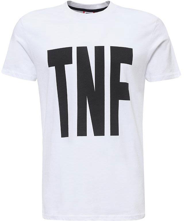 Футболка мужская The North Face M S/S Tnf Tee, цвет: белый. T92S5AFN4. Размер S (48)T92S5AFN4Мужская футболка The North Face изготовлена из качественного натурального хлопка. Модель выполнена с круглой горловиной и короткими рукавами.