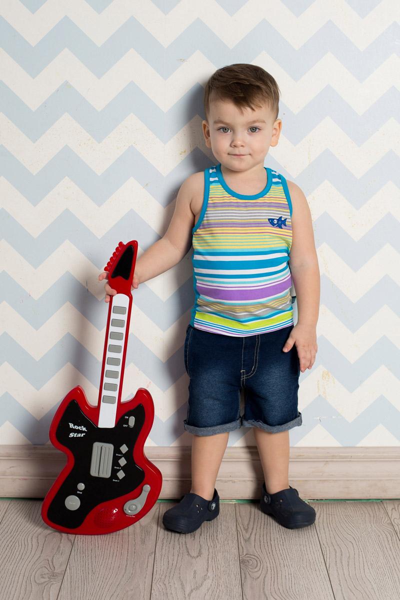 Шорты для мальчика Sweet Berry Baby, цвет: синий. 711049. Размер 80711049Стильные джинсовые шорты для мальчика Sweet Berry выполнены из мягкого материала с эффектом потертости. Модель с отворотами имеет пояс на мягкой резинке, дополнительно регулируемый шнурком. С боков изделие дополнено двумя прорезными карманами.