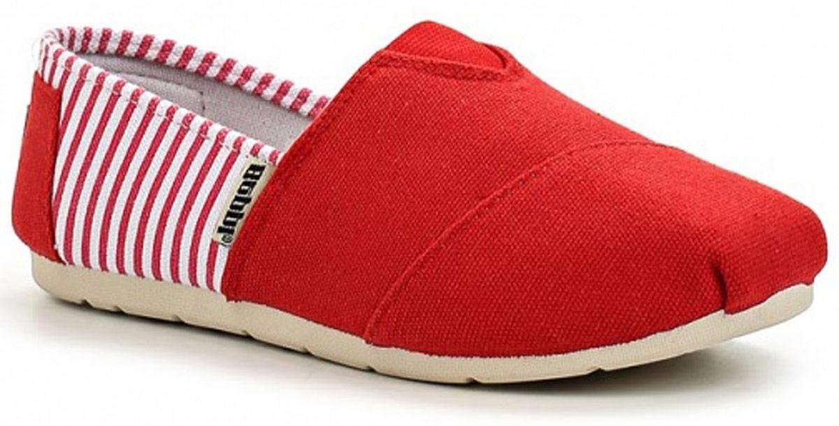 Эспадрильи детские Beppi, цвет: красный, белый. 2142482. Размер 312142482Трендовые детские эспадрильи от Beppi выполнены из плотного текстиля и оформлены принтом в полоску. Эластичная вставка на подъеме гарантирует идеальную посадку модели на ноге. Подкладка и стелька из текстиля обеспечивают комфорт при движении. Подошва дополнена рифлением.