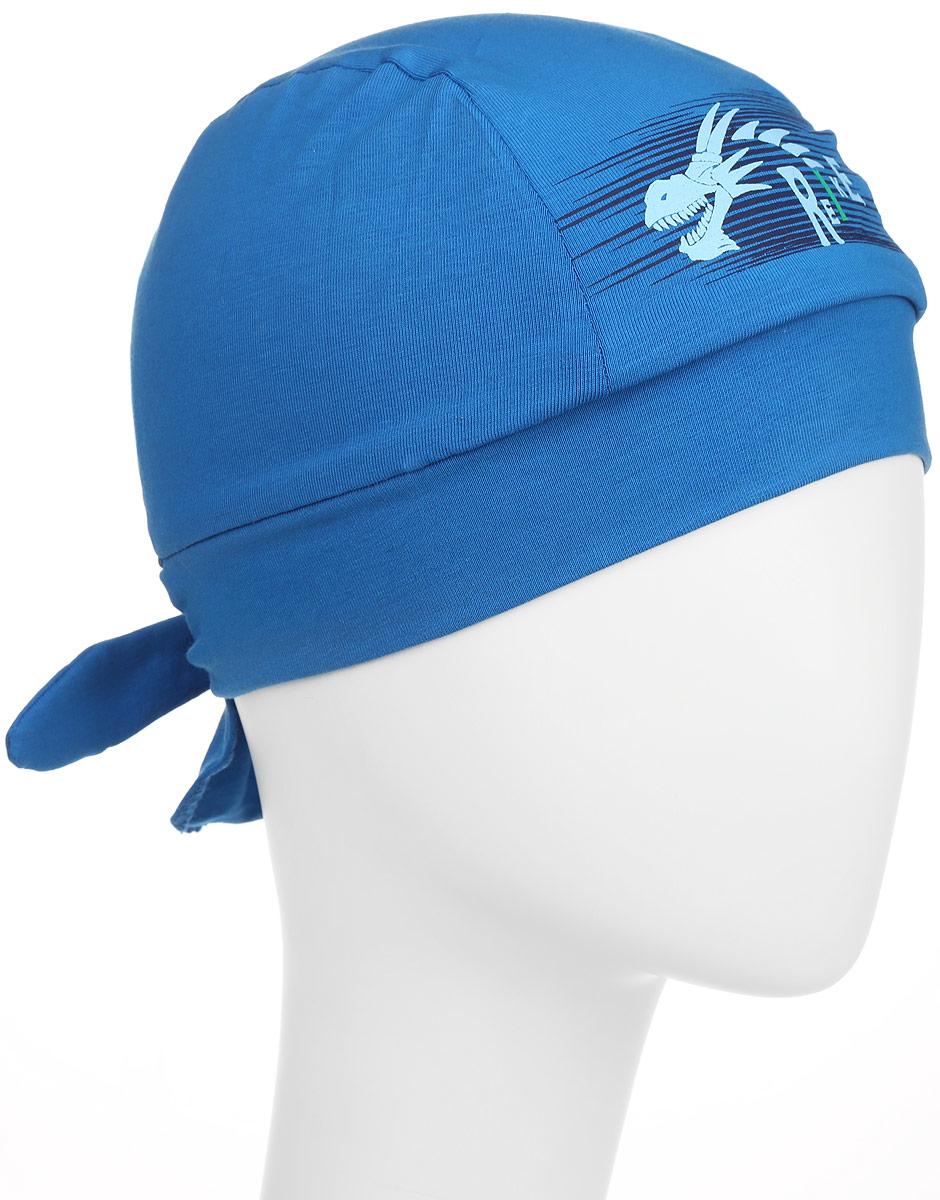 Бандана для мальчика Reike Драконы, цвет: синий. RKNSS17-DRG2. Размер 52RKNSS17-DRG2_blueБандана для мальчика Reike Драконы, изготовленная из натурального хлопка, станет стильным аксессуаром во время прогулок и игр на свежем воздухе, защищая голову малыша от солнца и ветра. Бандана оформлена объемным принтом в стиле серии и фиксируется на голове широкими завязками.Уважаемые клиенты!Размер, доступный для заказа, является обхватом головы.