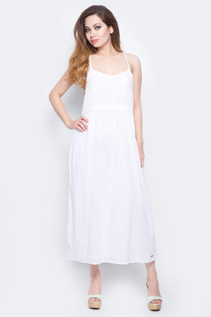 ПлатьеLee Cooper, цвет: белый. DESIRE-5094. Размер L (50)DESIRE-5094