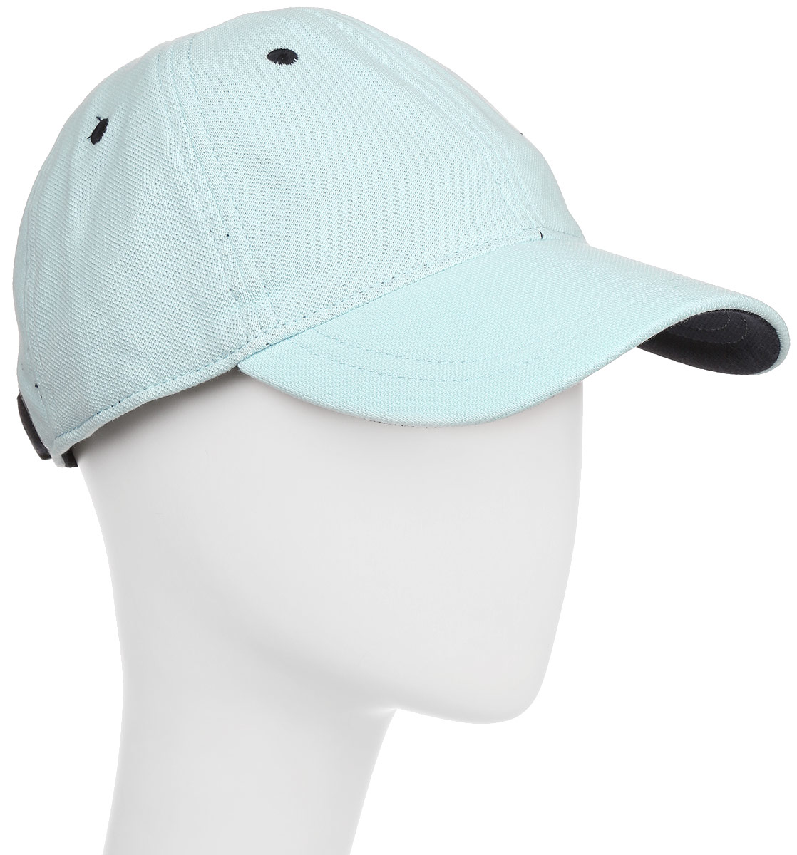 Бейсболка мужская Fred Perry Pique Classic Cap, цвет: голубой. HW1610-105. Размер универсальныйHW1610-105