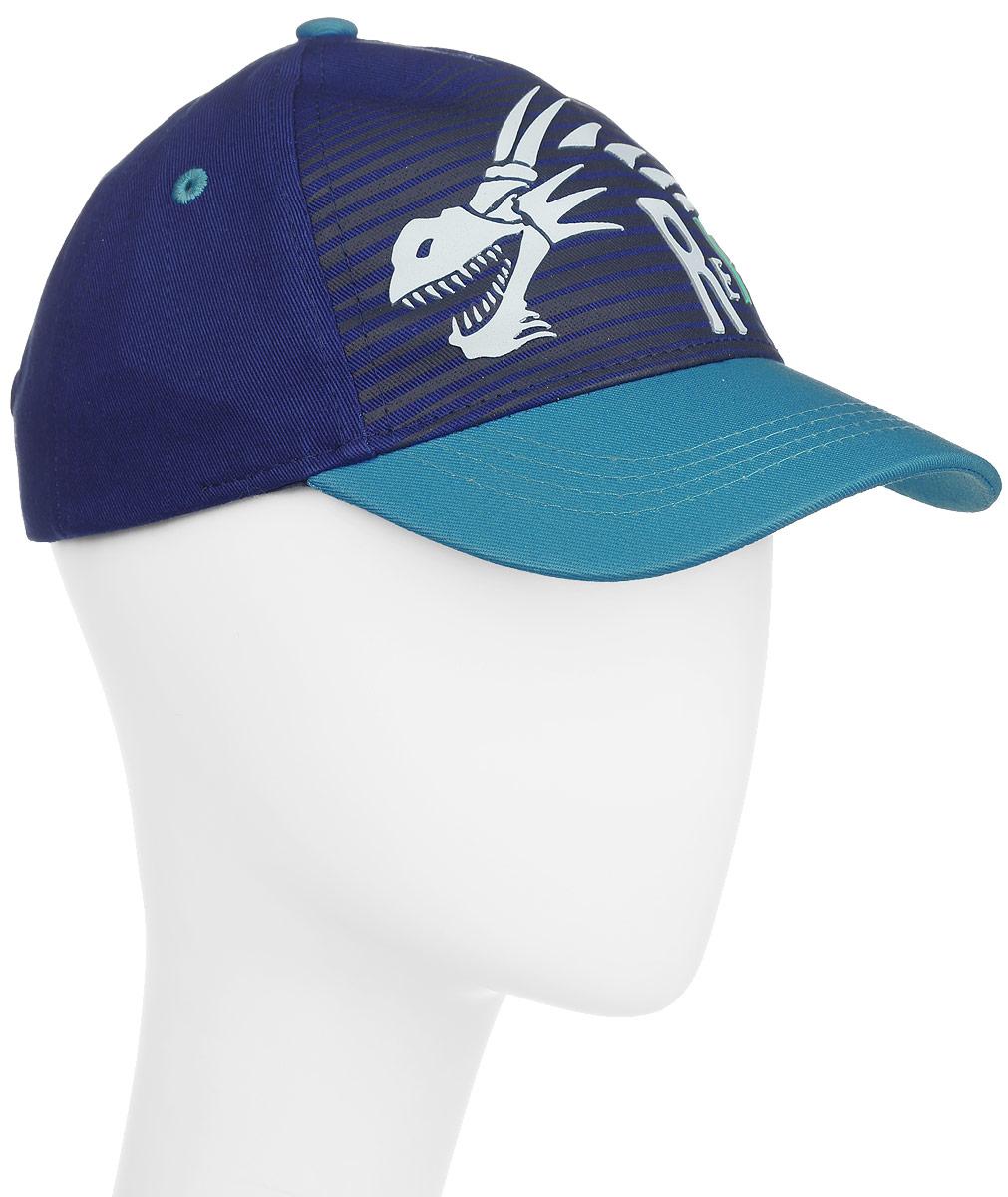 Бейсболка для мальчика Reike Драконы, цвет: синий. RWSS17-DRG1. Размер 50RWSS17-DRG1_blueБейсболка для мальчика Reike Драконы, изготовленная из натурального хлопка, станет стильным аксессуаром во время прогулок и игр на свежем воздухе, защищая голову ребенка от солнца. Бейсболка оформлена принтом в стиле серии и застегивается на ремешок с липучкой, позволяющей регулировать размер.Уважаемые клиенты!Размер, доступный для заказа, является обхватом головы.