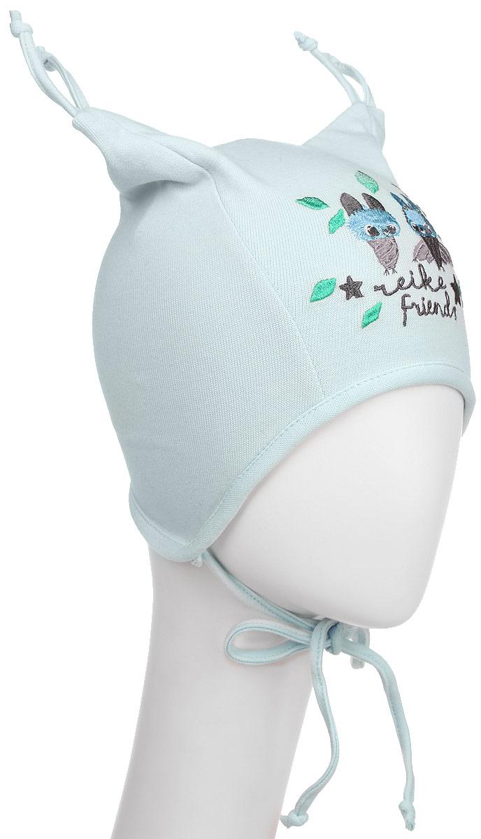 Шапка детская Reike Летучие Мышки, цвет: синий. RKNSS17-BT3. Размер 44RKNSS17-BT3_blueСтильная двухслойная шапка Reike Летучие Мышки, изготовленная из натурального хлопка, защитит голову ребенка от ветра в прохладную погоду. Модель с удлиненными ушками оформлена кисточками и вышитым принтом в стиле коллекции. Изделие фиксируется на голове при помощи завязок.Уважаемые клиенты!Размер, доступный для заказа, является обхватом головы.