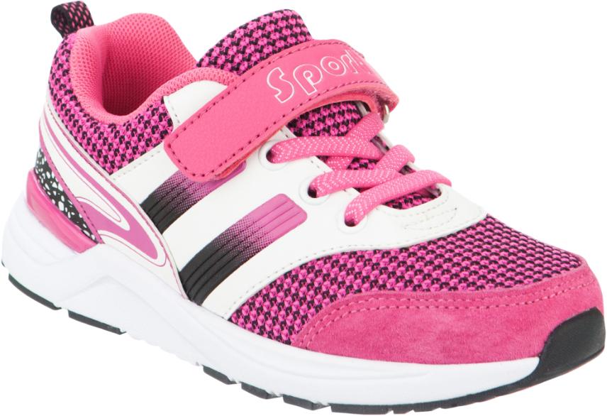 Кроссовки для девочки Kapika, цвет: фуксия, белый. 73268-1. Размер 3373268-1Стильные кроссовки от Kapika не оставят равнодушной вашу девочку! Модель изготовлена из комбинированного материала. Ремешок с застежкой-липучкой, декорированный надписью и эластичные шнурки, прочно закрепят обувь на ножке. Задник дополнен ярлычком для более удобного надевания обуви. Внутренняя часть выполнена из текстиля. Стелька из натуральной кожи удобна при ходьбе. Облегченная, рельефная подошва с добавлением ЭВА материала обеспечит сцепление с любой поверхностью. Модные кроссовки отлично дополнят образ вашего ребенка.