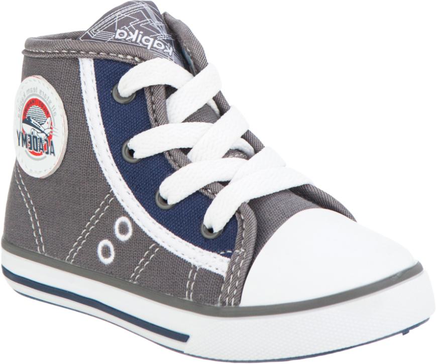 Кеды для мальчика Kapika, цвет: темно-серый. 72237-2. Размер 2672237-2Модные кеды от Kapika придутся по душе вашему мальчику. Модель выполнена из плотного текстиля и дополнена классической прорезиненной вставкой на мыске. Обувь оформлена контрастной строчкой и сбоку нашивкой из пластика. Подкладка, изготовленная из текстиля, гарантирует уют и предотвратит натирание. Стелька из натуральной кожи обеспечит комфорт. Шнуровка и боковая застежка-молния надежно зафиксирует изделие на ноге. Подошва оснащена рифлением для лучшего сцепления с поверхностями. В такой обуви ножкам вашего ребенка всегда будет комфортно и уютно.