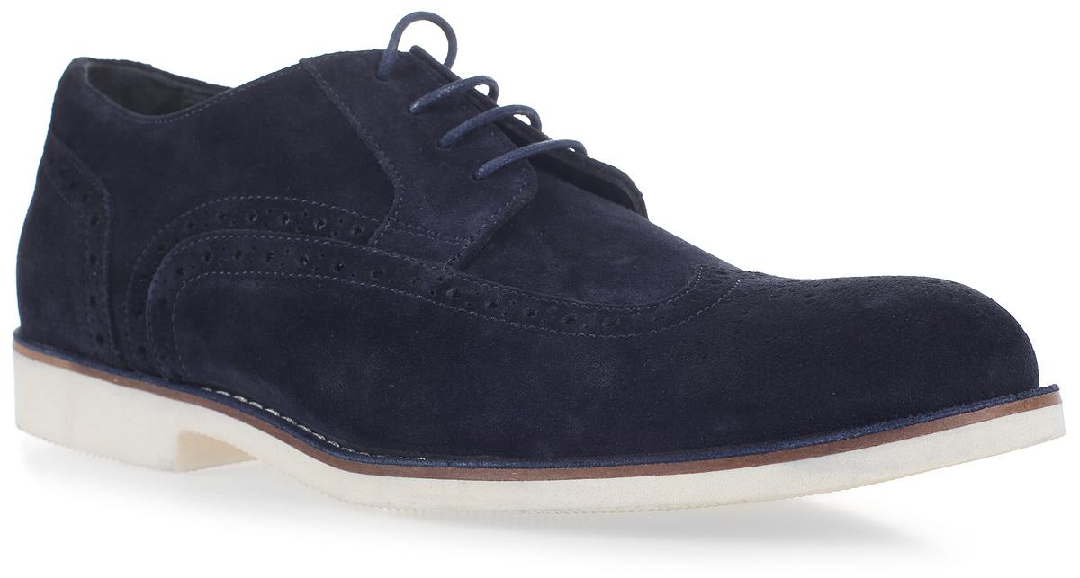 Полуботинки мужские James Franco, цвет: синий. 17M 1891/298. Размер 4417M 1891/298Стильные мужские полуботинки James Franco, выполненные из замши, гарантируют удобство и комфорт вашим ногам. Модель на шнуровке оформлена декоративными швами и отстрочкой.Данная модель прекрасно сможет подчеркнуть ваш индивидуальный стиль. В такой обуви вы можете пойти куда угодно: на деловую встречу, вечеринку или на городскую экскурсию.