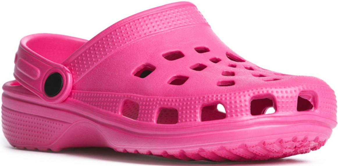 Сабо для девочки PlayToday, цвет: розовый. 172251. Размер 31172251Удобные сабо прекрасно подойдут и для поездки на пляж, и для дачи. Модель с подвижным запяточным ремнем, который можно откинуть, что позволяет легко снимать и одевать обувь. Изготовлены из легкого материала. Перфорация в верхней части обеспечивает вентиляцию ноги.