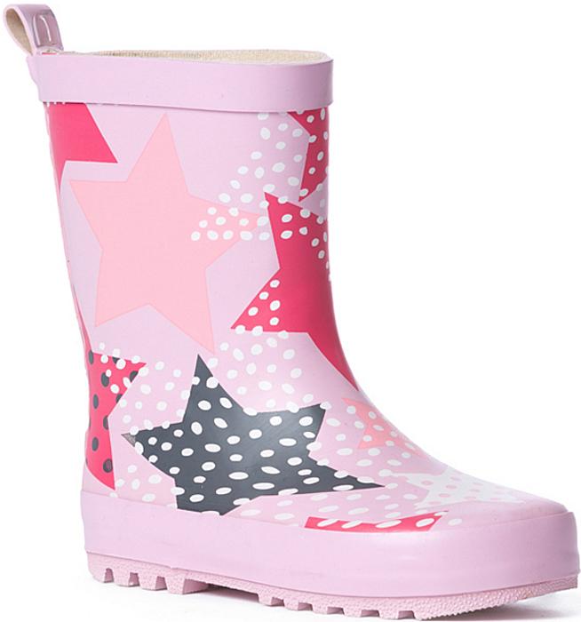 Сапоги резиновые для девочки PlayToday Baby, цвет: светло-розовый, розовый, черный. 178201. Размер 23178201Резиновые сапоги прекрасно подойдут для прогулок в дождливую погоду. Модель на утолщенной рифленой подошве с небольшим устойчивым каблуком. Мягкая подкладка обеспечит комфорт ногам.