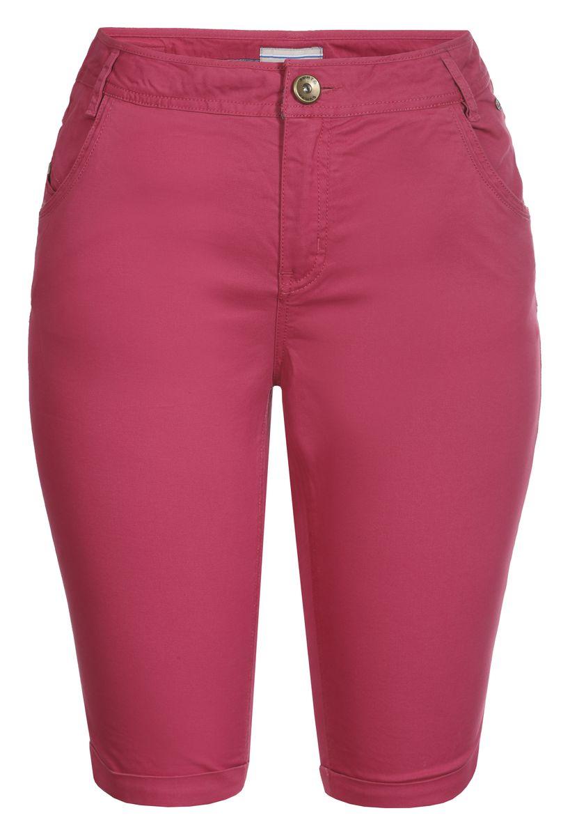 Шорты женские Luhta, цвет: розовый. 737735362LV. Размер 40 (48)737735362LVСтильные женские шорты Luhta выполнены из высококачественного материала. Модель стандартной посадки застегивается на пуговицу в поясе и ширинку на застежке-молнии. Пояс имеет шлевки для ремня. Спереди брюки дополнены втачными карманами.