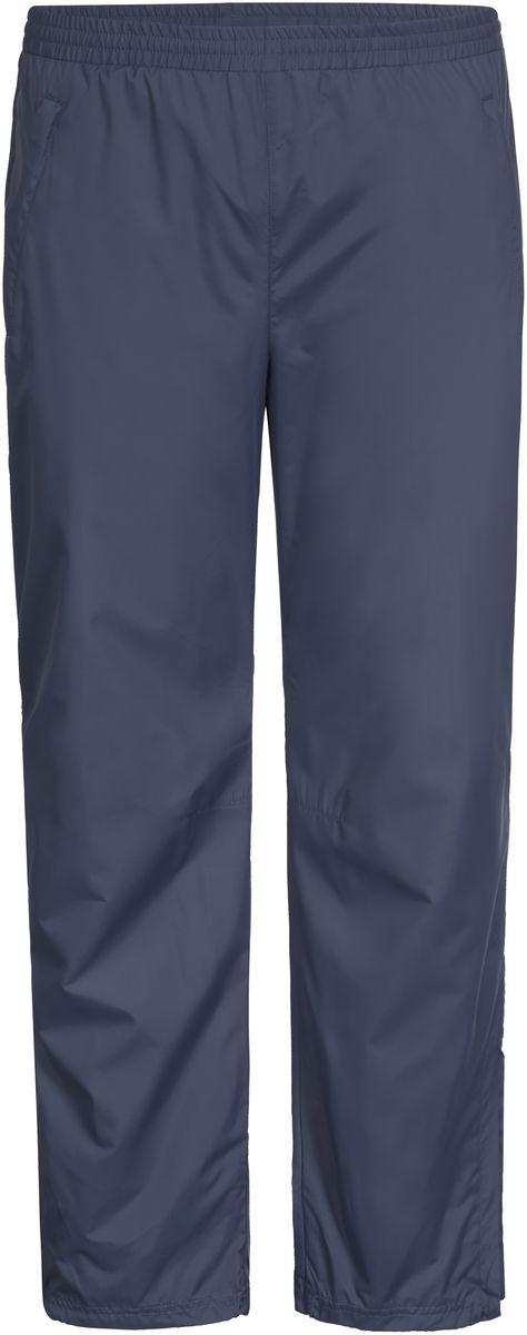 Брюки мужские Icepeak, цвет: синий. 757033555IV_345. Размер 50757033555IV_345Мужские брюки от Icepeak выполнены из высококачественного ветронепроницаемого материала. Модель прямого кроя на эластичной резинке с карманами.
