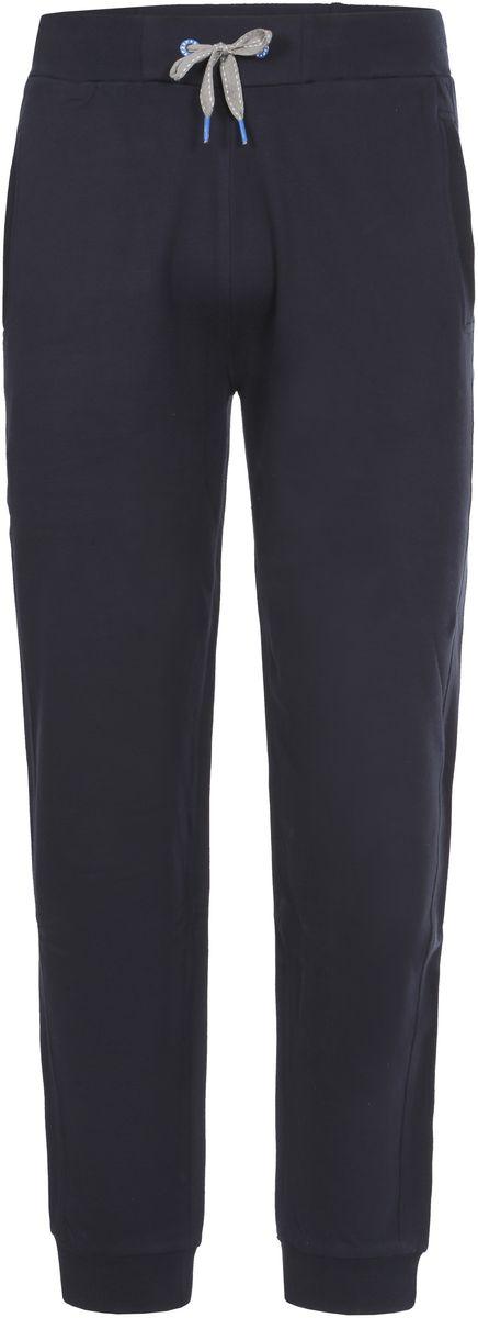 Брюки спортивные мужские Icepeak Lenny, цвет: темно-синий. 757065573IV_390. Размер XL (54)757065573IV_390Трикотажные спортивные брюки Lenny для мужчин от Icepeak выполнены из плотного трикотажа. Модель на эластичном поясе с кулиской на шнурке имеет два боковых кармана, эластичный манжеты.