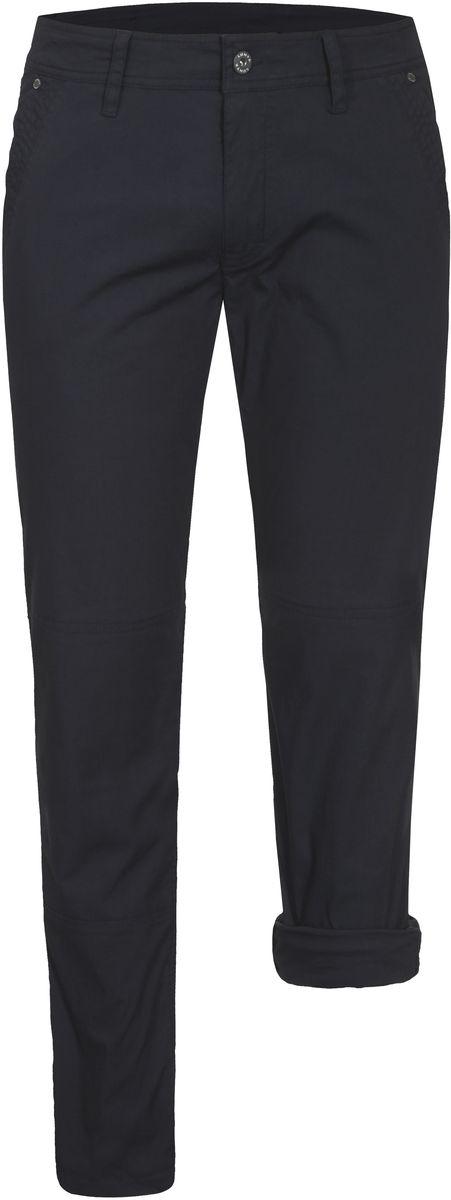 Брюки мужские Luhta, цвет: темно-синий. 737800343LV. Размер 54737800343LVСтильные мужские брюки Luhta выполнены из высококачественного материала. Модель стандартной посадки застегивается на пуговицу в поясе и ширинку на застежке-молнии. Пояс имеет шлевки для ремня. Спереди брюки дополнены втачными карманами.