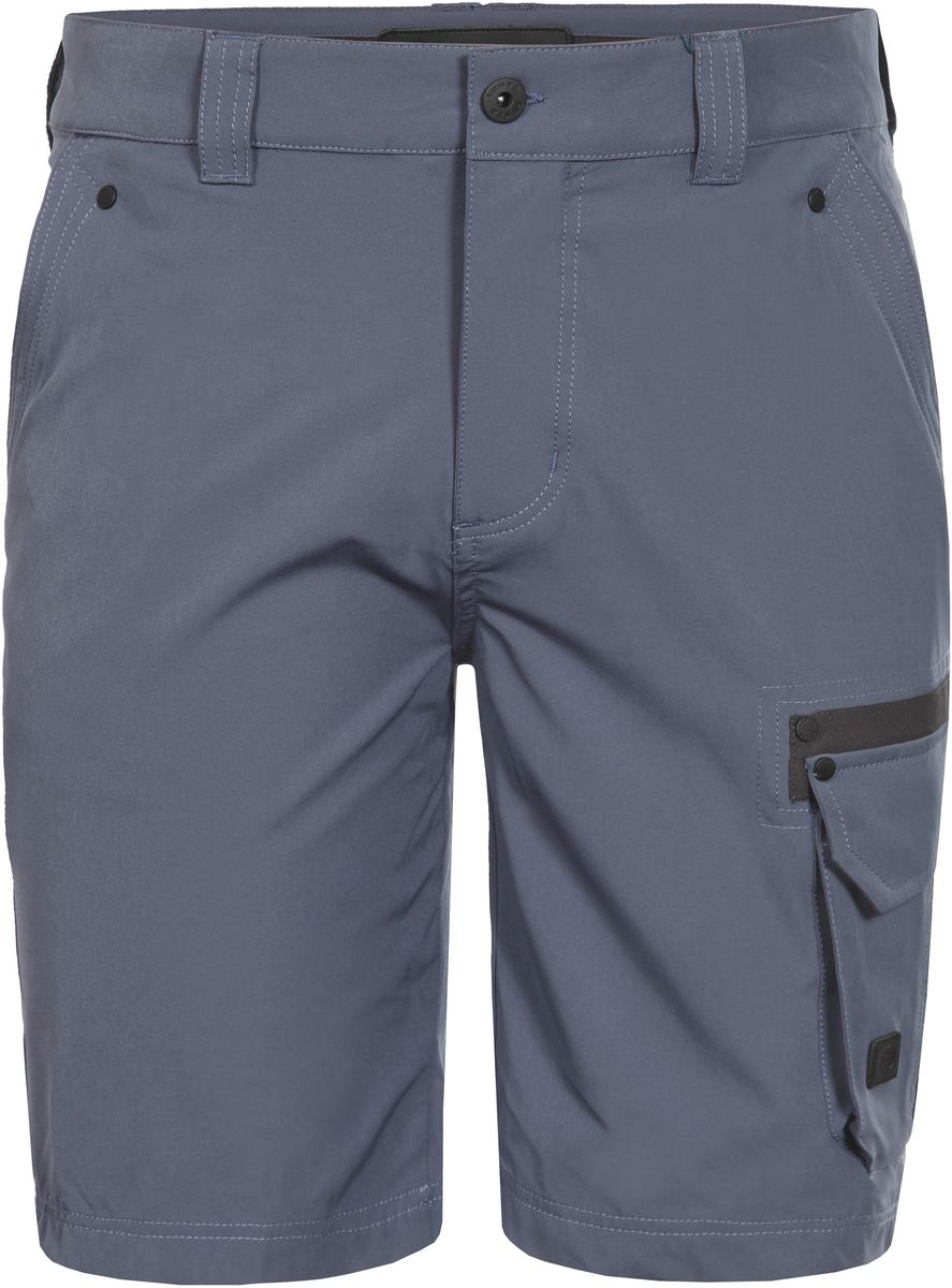 Шорты мужские Luhta, цвет: синий. 737845595LVT. Размер 56737845595LVTСтильные мужские шорты Luhta выполнены из высококачественного материала. Модель стандартной посадки застегивается на пуговицу в поясе и ширинку на застежке-молнии. Пояс имеет шлевки для ремня. Спереди шорты дополнены втачными карманами. Сбоку дополнены накладным карманом с клапаном.