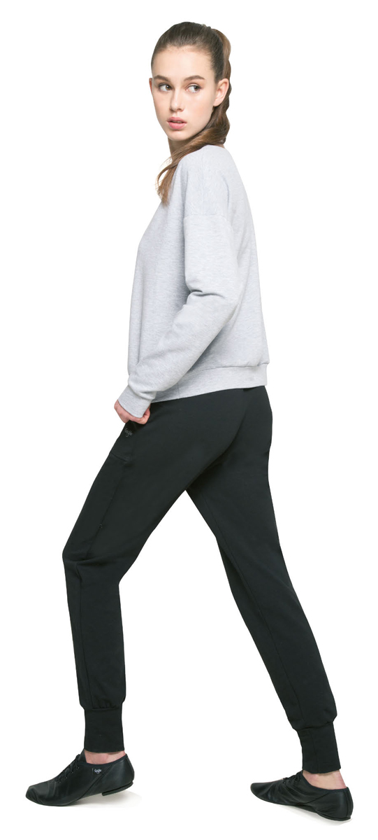 Брюки спортивные женские Grishko, цвет: черный. AL-3034. Размер M (46)AL-3034Спортивные брюки Grishko выполнены с высокой посадкой. Модель с карманами и манжетами по низу изделия изготовлена из плотного дышащего материала хлопок с лайкрой (футер). Это натуральная ткань, гладкая с лицевой стороны и ворсистая, приятная к телу с изнаночной. Модель создана для активных городских будней и беззаботных выходных за городом и позволяет везде чувствовать себя комфортно и непринужденно, не оставаясь при этом без внимания!