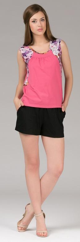Комплект одежды женский Tesoro, цвет: лавандово-розовый. 396К1. Размер 48396К1Женский костюм для дома и отдыха, состоит из футболки и брюк. Изготовлен из мягкого трикотажного материала.