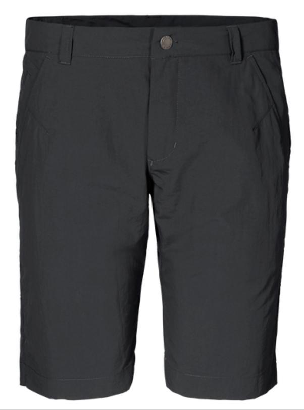 Шорты мужские Jack Wolfskin Kalahari Shorts, цвет: серый. 1503271-6350. Размер 54 (54)1503271-6350Шорты мужские Kalahari Shorts— это дорожные шорты из нейлона SUPPLEX (СУПЛЕКС), который просто создан для путешествий. Шорты имеют множество преимуществ, особенно практичных в путешествии: они легкие, защищают от ультрафиолетового излучения и упаковываются очень компактно. К тому же материал очень быстро сохнет. Модель застегивается на ширинку с молнией и пуговицу в поясе. Пояс дополнен шлевками для ремня. Спереди расположены два втачных кармана, сзади также имеется два втачных кармана. Kalahari Shorts — сочетание нужных качеств для путешествий, летних походов и будней.