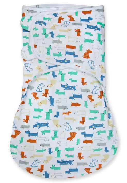 Конверт для новорожденного Summer Infant Wrap Sack на липучке, цвет: белый, мультиколор. 54160. Размер L, длина 60 см54160Конверт для новорожденного Summer Infant полностью выполнен из натурального хлопка и оформлен оригинальным принтом. Модель застегивается с помощью липучек на крыльях, регулирующих объем и застежки-молнии. Мягко облегая, конверт не ограничивает движение ребенка.
