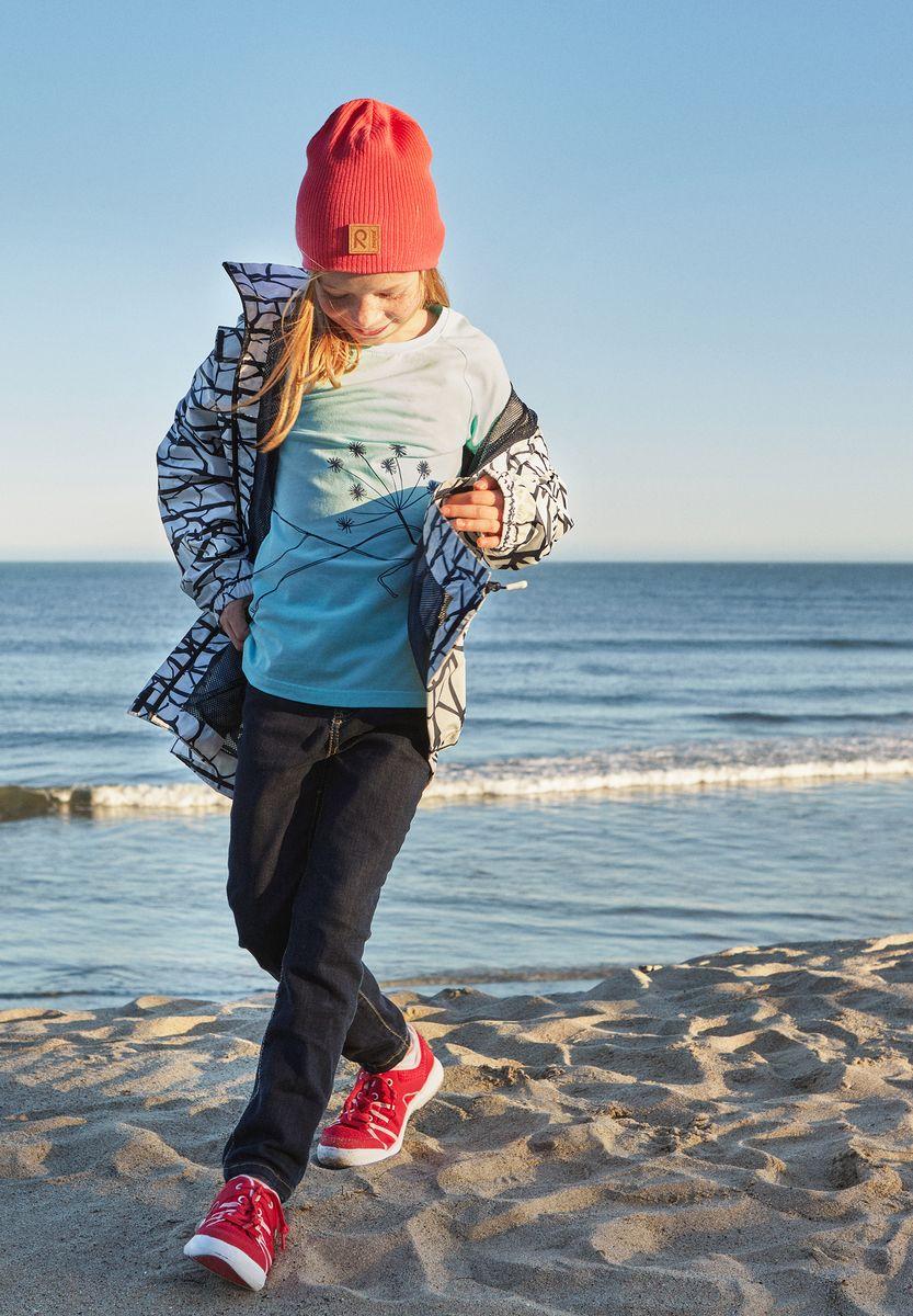Шапка детская Reima Majakka, цвет: розовый. 5285263360. Размер 565285263360Детская шапка прекрасно подойдет для весенней поры. Она изготовлена из эластичного и легкого вязаного хлопка, мягкого и приятного на ощупь. Материал сертифицирован по стандарту Oeko-Tex. Удлиненная модель с подкладкой. Шапка смотрится ярко и стильно то, что надо для прогулки!