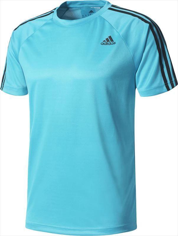 Футболка мужская Adidas D2M 3-Stripes, цвет: синий. BK0967. Размер M (48/50)BK0967Спортивная футболка Adidas D2M 3-Stripes для достижения впечатляющих результатов. Функциональная ткань эффективно отводит излишки влаги и сохраняет ощущение комфорта. Модель выполнена из плотного трикотажа и дополнена рукавами реглан. Три полоски на каждом плече.Ткань с технологией climalite быстро и эффективно отводит влагу с поверхности кожи, поддерживая комфортный микроклимат.Эта модель — часть экологической программы adidas: использованы технологии, сберегающие природные ресурсы; каждая нить имеет значение: переработанный полиэстер сохраняет природные ресурсы и уменьшает отходы производства.