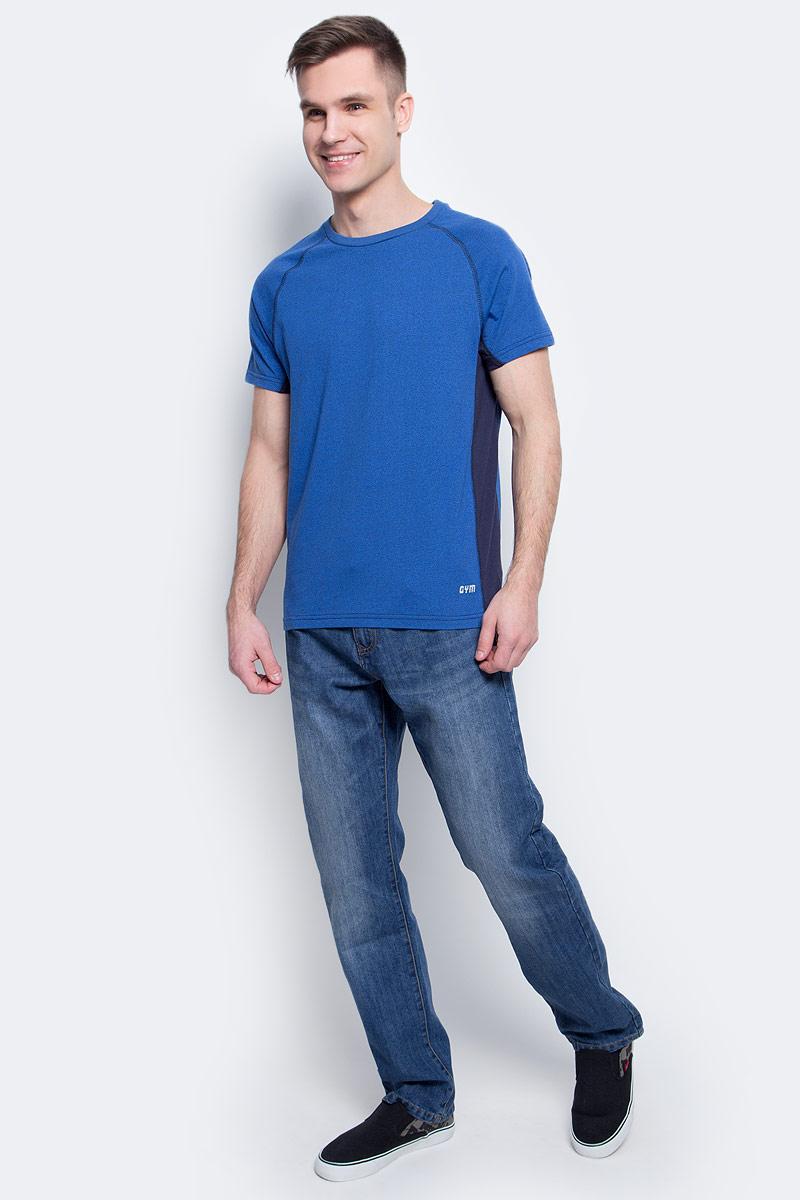 Джинсы мужские Sela, цвет: синий джинс. PJ-235/1080-7152. Размер 32-32 (48-32)PJ-235/1080-7152Стильные мужские джинсы Sela, изготовленные из качественного хлопкового материала с потертостями, станут отличным дополнением гардероба. Джинсы прямого кроя и стандартной посадки на талии застегиваются на застежку-молнию и пуговицу. На поясе имеются шлевки для ремня. Модель представляет собой классическую пятикарманку: два втачных и накладной карманы спереди и два накладных кармана сзади.