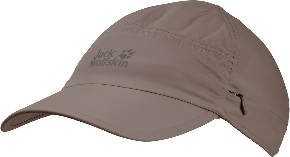 Кепка Jack Wolfskin Supplex Canyon Cap, цвет: бежевый. 1905891-5116. Размер L (57/60) jack wolfskin кепка supplex cap women