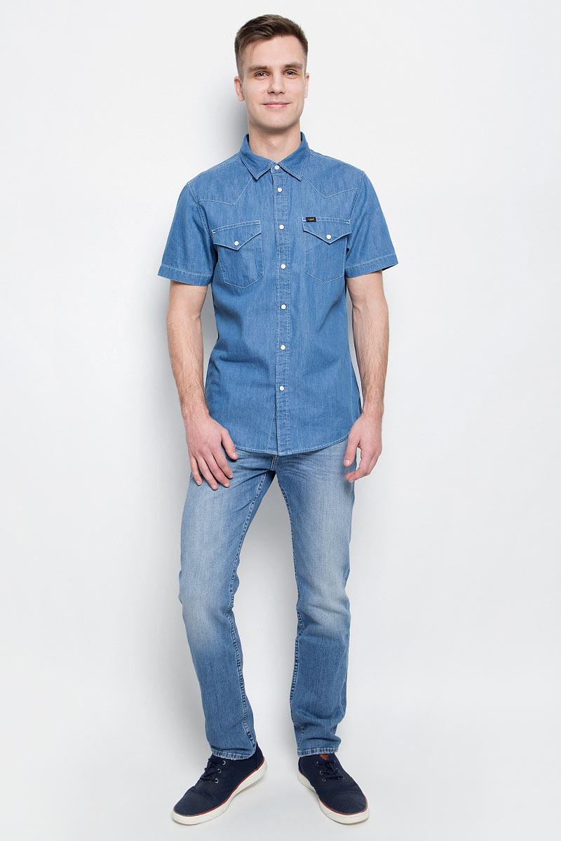 Джинсы мужские Lee, цвет: голубой. L701APDF. Размер 30-32 (46-32)L701APDF