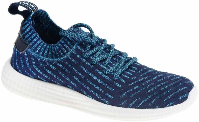 Кроссовки женские Strobbs, цвет: синий. F6538-13. Размер 36F6538-13Стильные женские кроссовки Strobbs отлично подойдут для активного отдыха и повседневной носки. Верх модели выполнен из текстиля по бесшовной технологии. Удобная шнуровка надежно фиксирует модель на стопе. Подошва обеспечивает легкость и естественную свободу движений. Мягкие и удобные, кроссовки превосходно подчеркнут ваш спортивный образ и подарят комфорт.