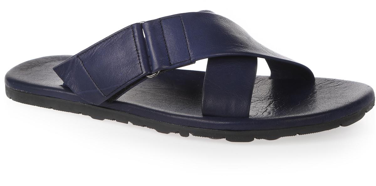 Сабо мужские Mario Ponti, цвет: синий. MP-762-06-03. Размер 44MP-762-06-03Сабо Mario Ponti выполнены из натуральной кожи. На ноге модель фиксируется с помощью перекрещивающихся ремешков на липучке. Внутренняя поверхностьи стелька - из натуральной кожи, создают уют и комфорт при движении. Рифленое основание подошвы гарантирует идеальное сцепление с любой поверхностью. Такие сабо - отличное решение для каждодневного использования!